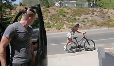 Butt fuck on your bicycle