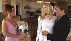 Bride and Bridesmaids Anal Afternoon