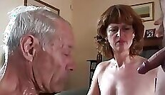 cuckolding into fucked and taking it In her ass