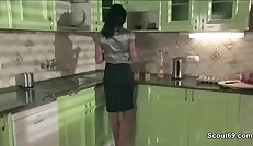 Mother best MILF Friend Seduce to Fuck by Step Son