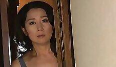 Cock hungry Japanese mother wife Lili Langgerian masturbating