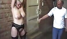 Amazing genie, amateur fuck with an older woman, BDSM