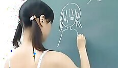 Big boob ABD Japanese Schoolgirl Nude Photoshoot