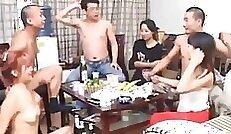 Chinese Girlfriend Sucking big Dick And Fucking