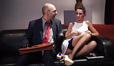 German slave babe july sun gets tied and tortured