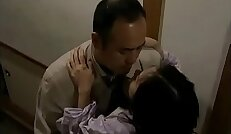 Japanese hot wife with neighbor when her husband is sleeping
