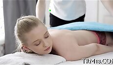 Orall service in exchange for massage